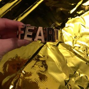 "BCBG Leopard ""Fearless"" bracelet"